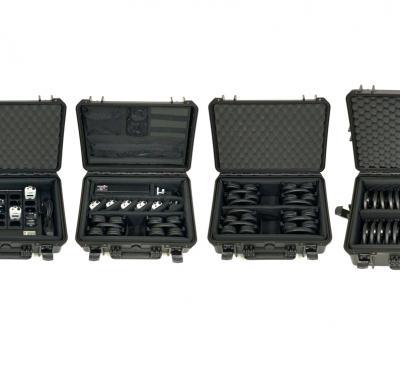 New waterproof storage cases