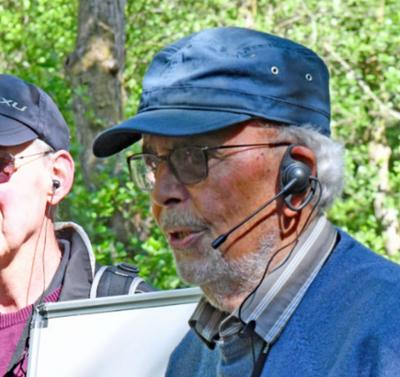 U3A Geology group use tour guide system