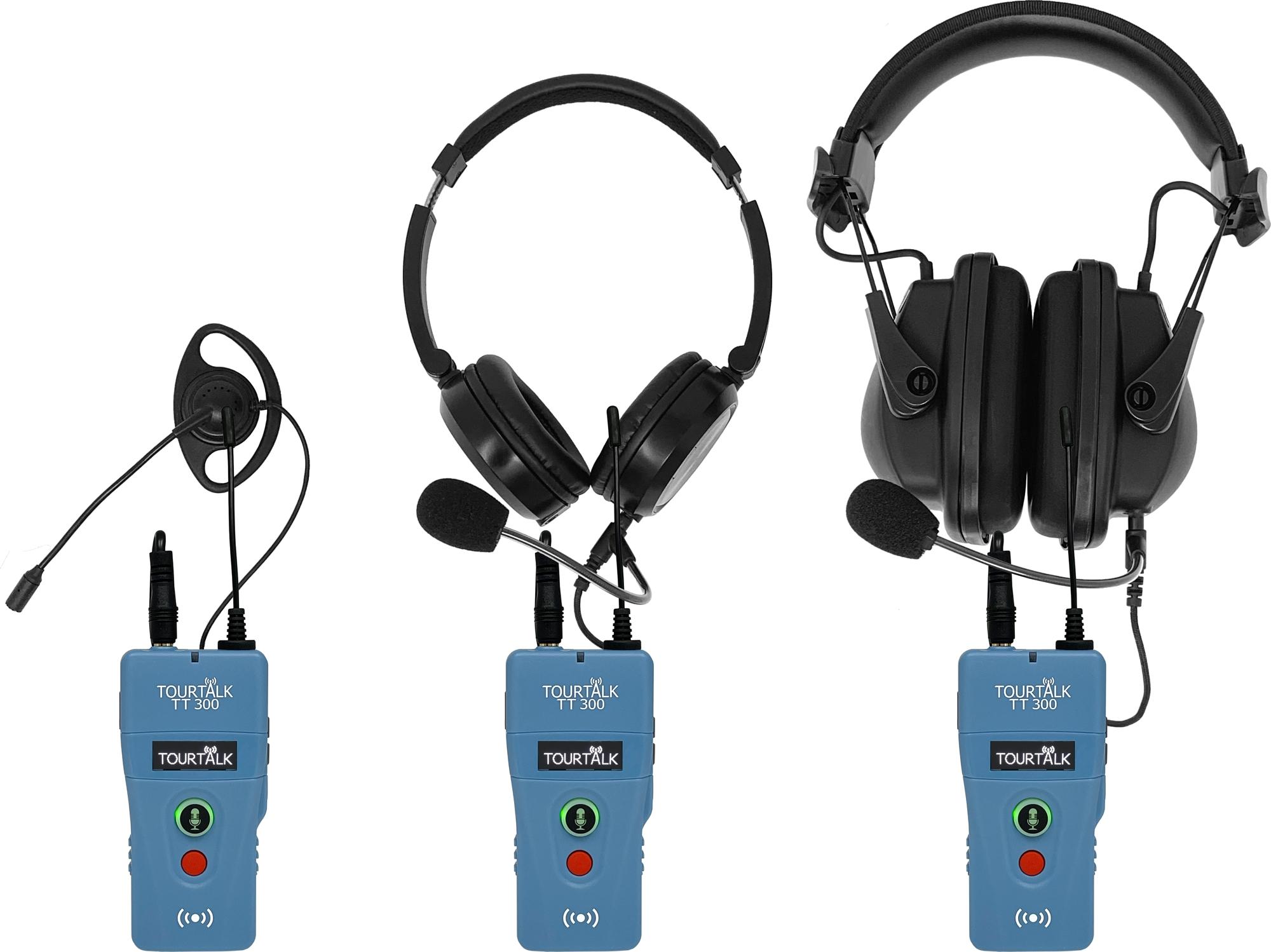 Wireless Tourtalk TT 300 full-duplex headsets